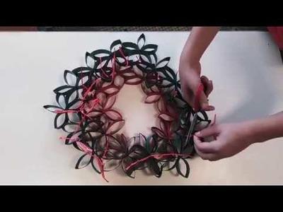 Second Chance - TUTORIAL Christmas Wreath - Rauzan (FRANCE)