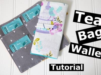 Tea bag Wallet Sewing tutorial