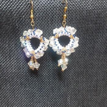 Triangle earrings 212249
