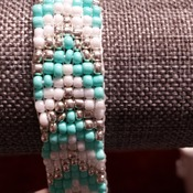 Turquois and Silver bracelet