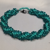Turquois Spiral bracelet