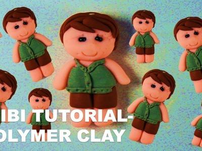 TUTORIAL  Polymer Clay Chibi   Doll Chibi   Chibi Tutorial for Beginners