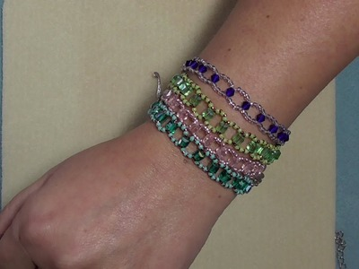 A simple but very Cute Bracelet Tutorial suitable for Beginners . ????