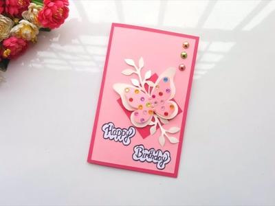 Beautiful Handmade Birthday pop up Card idea -DIY GREETING cards for birthday