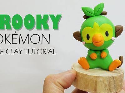 EP 9: GROOKEY POKEMON - Clay tutorial | Boo's Handmade (Clay With Boo)
