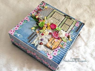 Handmade Love Scrapbook | Best handmade Scrapbook | Love.Anniversary theme album