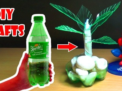 How To Make Beautiful Bonsai From Used Bottles | DIY