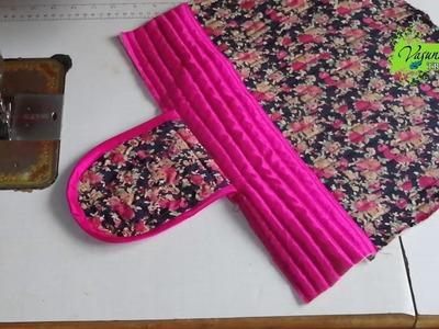 How To Make Hand Bag With Waste Fabric    DIY Handmade Handbag Stitching At Home