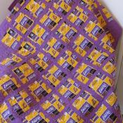 Laker Baby Quilt New Handmade Nursery Toddler Quilt