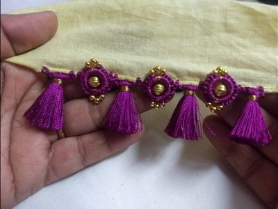 Saree Kuchhu With Rings and Beads