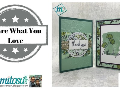 Share What You Love Handmade Cards