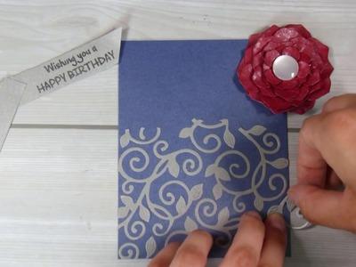 3D Flowers in cardmaking  #aliexpress || March 2019