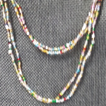 60-inch long Lariat necklace