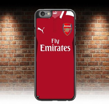 Arsenal F.C Football Shirt Phone Case For iphone 7 & 8 Ideal Gift man u fan