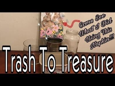 DIY DOLLAR TREE DECOR | 5 DIY TRASH TO TREASURE DECOR |  MARIE'S DIY
