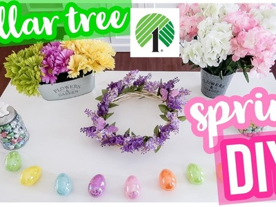 DIY DOLLAR TREE SPRING CRAFTS! EASY SPRING DECOR CRAFT WITH ME 2019 | Brianna K