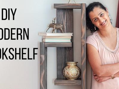 DIY Modern Bookshelf - in 5 easy steps!