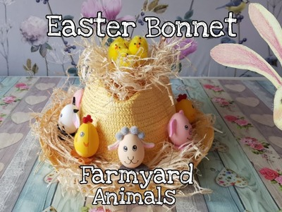 Easter Series - Boys Easter Bonnet - Easy to follow Tutorial using Poundland & Home Bargain products