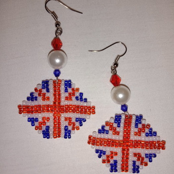 Handmade United Kingdom Haxegon Earrings