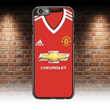 Manchester United Shirt phone case For iphone 7 & 8 Man U Cover
