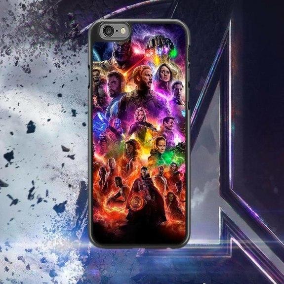 Marvel Avengers Endgame phone case for iphone 5 5s & se Ideal Gift ...