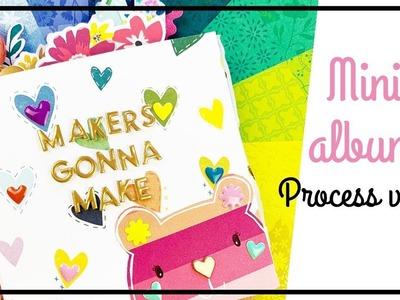 PINK PAISLEE Design Team - Scrapbooking process 184 - Mini album