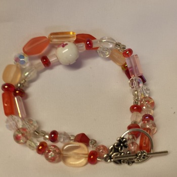Red to orange bracelet 150111