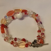 Red to orange bracelet 150111