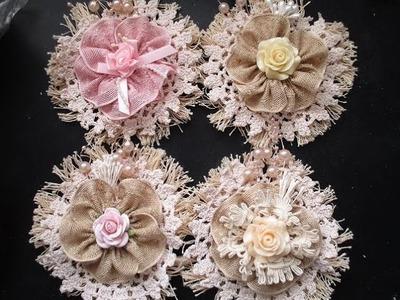 Shabby-Chic Vintage Flower Tutorial - jennings644