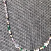 """Single strand 24"""" necklace 161931"""