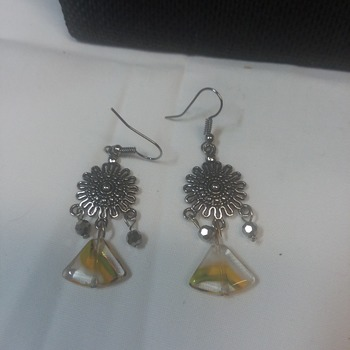 Sunny yellow earrings  151315