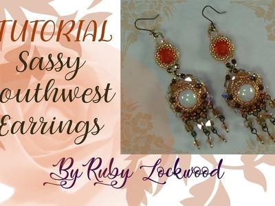 (TUTORIAL) Sassy Southwest Earrings (Part 1)