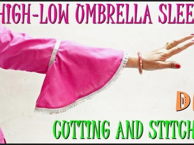 Umbrella Sleeves Cutting And Stitching | DIY - Tailoring With Usha
