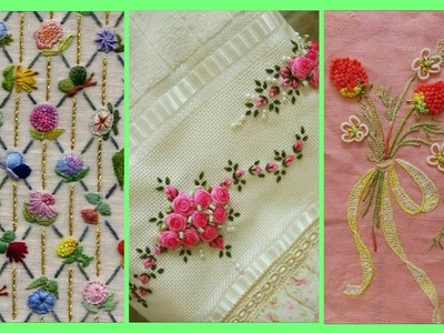 Beautiful color full hand embroidery designs.