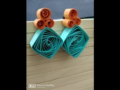 Beginners simple Quilling studs