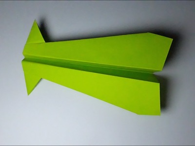 How, How to make a paper aroplane very easy, How to make a