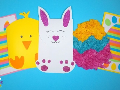 Easy Easter Card Ideas | Easter Crafts for Kids