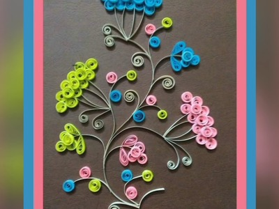 EASY QUILLING IDEAS| DESIGNS | ART| QUILLING WALL FRAMES FOR HOME DECOR