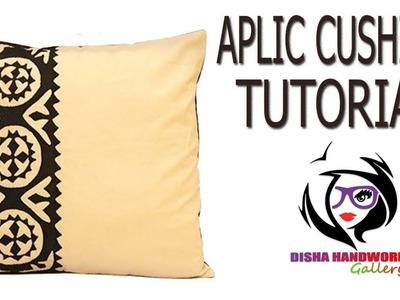 Hand Embroidery.Aplic Work CushionTutorial.Rilli Work.Applique Work.Patch work.Handwork#167