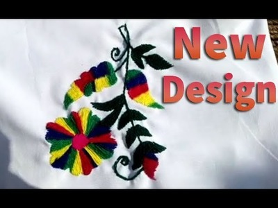 Hand Embroidery Latest Design    pola tanka part 1
