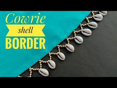 Hand made border. for saree. easy to make. border making. exclusive style. useful & easy