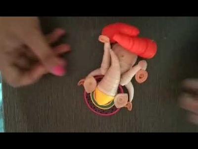 Quilling Ganesha ????????
