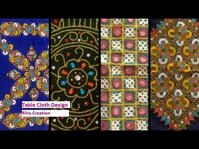Table Cloth Design | Hand Embroidery(Gujarati)