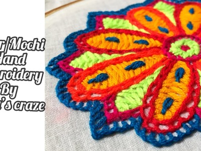 Traditional Hand embroidery 2019 | Ahir. Mochi Hand embroidery design | Keya's Craze