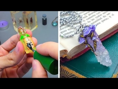8 ORIGINAL MINIATURE FAIRYTALE CRAFTS CREATED WITH VARIOUS MATERIALS