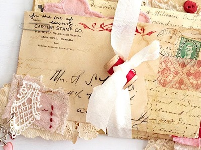 Envelope Art | Heirloom Collection | Journal Process Video