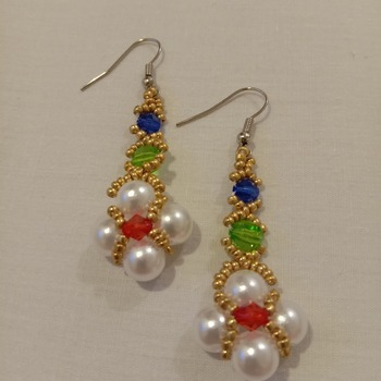 Handmade Royal Earrings