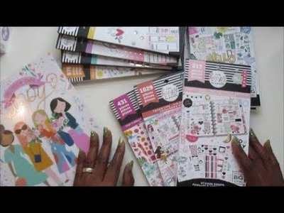 Happy Planner Spring Release Unboxing!!!