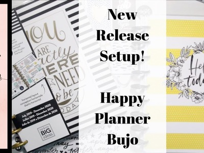 New Release Set-Up | March 2019 | Happy Planner Bullet Journal Hybrid