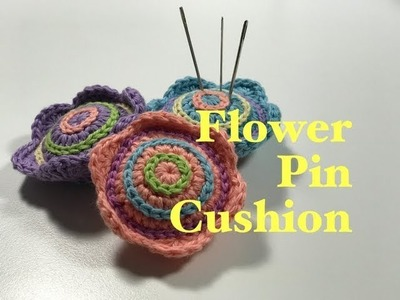 Ophelia Talks about a Flower Pin Cushion